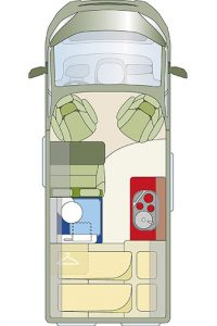 Matkailuauto Road Car R540 - pohjakuva • esarent.fi